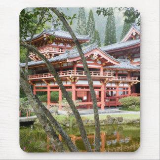 Buddhist Temple Mousepad