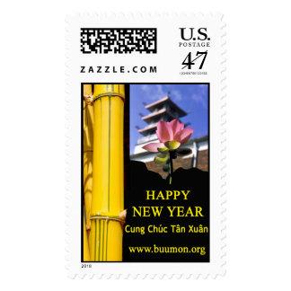 Buddhist Temple Stamp