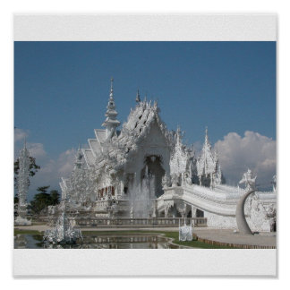 Buddhist Temple Thailand Posters