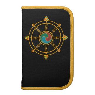 Buddhist Wheel of Dharma Folio Planner