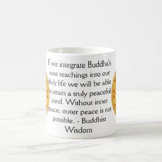 Buddhist Wisdom SAYING -  teaching Classic White Coffee Mug