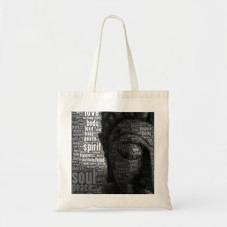 Buddhist Words of Wisdom Budget Tote Bag
