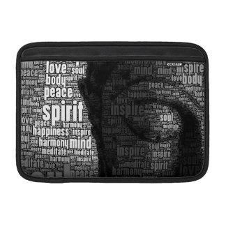 Buddhist Words of Wisdom MacBook Sleeves