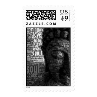 Buddhist Words of Wisdom Postage Stamps