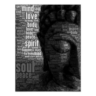 Buddhist Words of Wisdom Poster