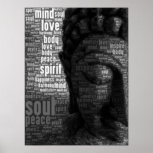 Buddhist Words of Wisdom Print