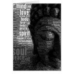Buddhist Words of Wisdom Stationery Note Card