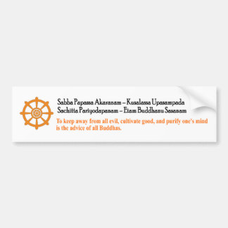 Buddhists Car Stickers