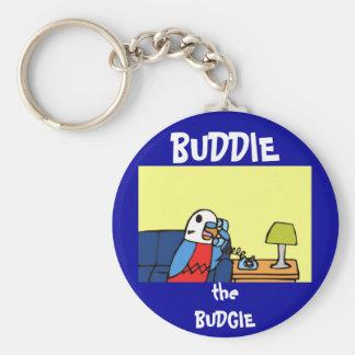 Buddie Calls his Congressman Basic Round Button Keychain
