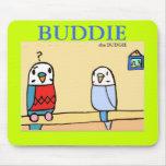 Buddie encuentra al compinche Mousepad Tapete De Raton