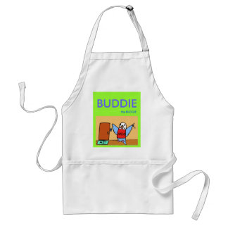Buddie Goes Home Adult Apron