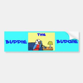 Buddie llama a su miembro del Congreso Pegatina Para Auto