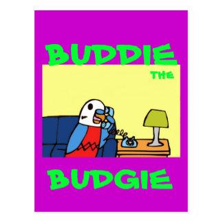Buddie llama a su miembro del Congreso Postales