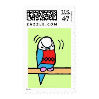 Buddie Preening Postage