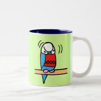 Buddie Preening Two-Tone Coffee Mug