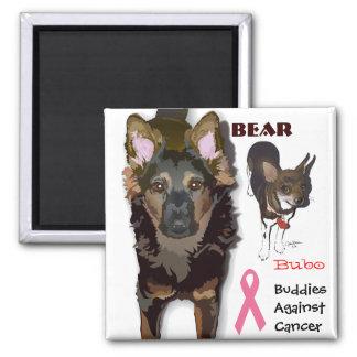 Buddies Against Cancer Magnet