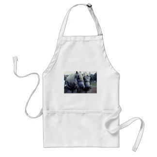 Buddies horse team apron