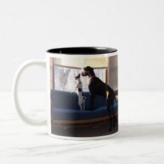 Buddies Two-Tone Coffee Mug