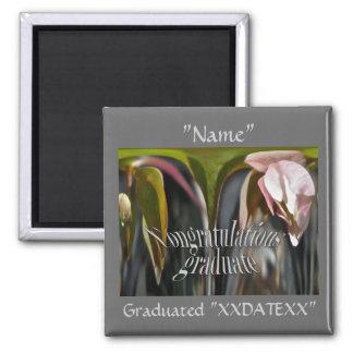 Budding Anemone Congratulations Graduate Magnet