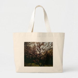 Budding Apricot Tote Bags