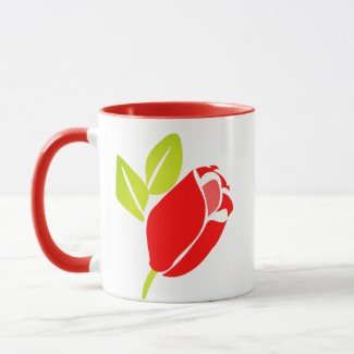 Budding Flower Mug
