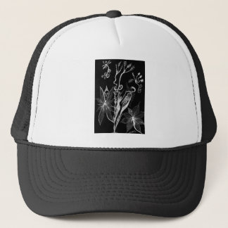 Budding Grace Inverted Trucker Hat