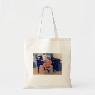 Budding Piano Diva Tote Bag