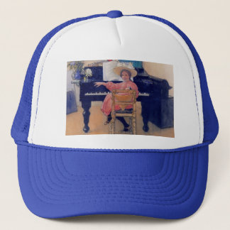 Budding Piano Diva Trucker Hat