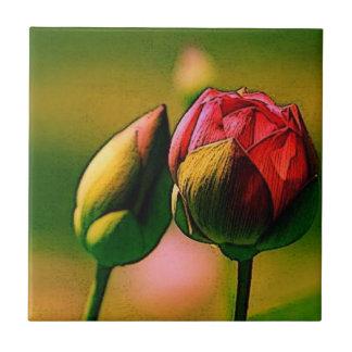 Budding Rose Tiles