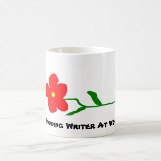 Budding Writer At Work ~ Mug