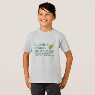 Budding Young Genealogist Kid's T-shirt