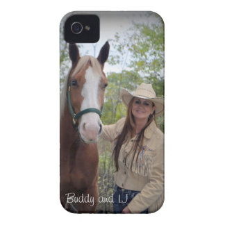 Buddy and LJ iPhone 4 Case-Mate Case