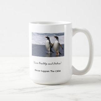 Buddy and Pedro Classic White Coffee Mug