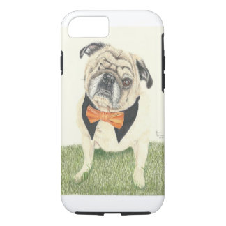 Buddy Love the Pug iPhone 7 Case