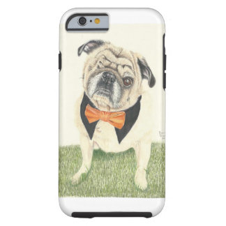 Buddy Love the Pug Tough iPhone 6 Case