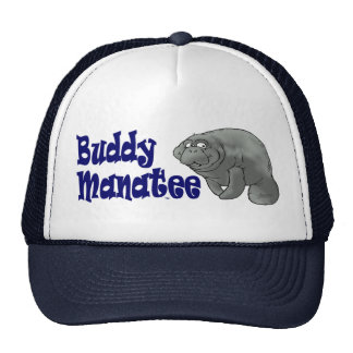 Buddy Manatee Ball Cap Trucker Hat