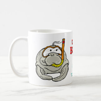 Buddy Manatee, DIVE BUDDY Coffee Mug