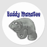 Buddy Manatee Sticker