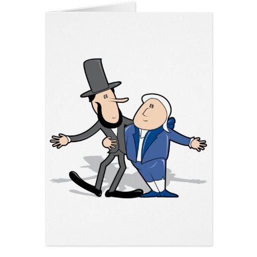 Buddy Presidents Card