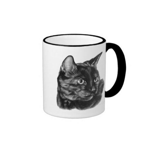 Buddy, Short-Haired Tortoise Cat Mug
