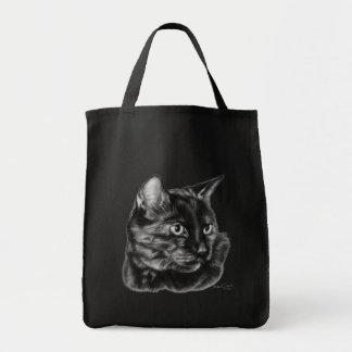 Buddy, Short-Haired Tortoise Cat Tote Bag