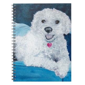 Buddy the Bichon Frise Notebook