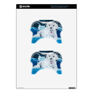 Buddy the Bichon Frise Xbox 360 Controller Skin