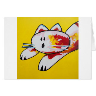 Buddy The Cat Card