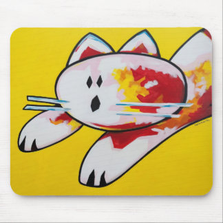 Buddy The Cat Mouse Pad