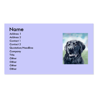 Buddy the Lab Double-Sided Standard Business Cards (Pack Of 100)