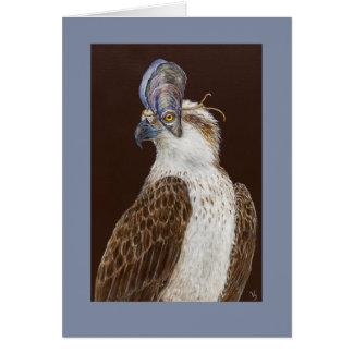 Buddy the osprey card