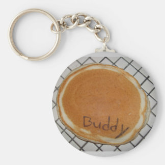Buddy the Pancake Keychain