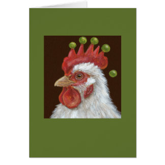 Buddy the rooster card