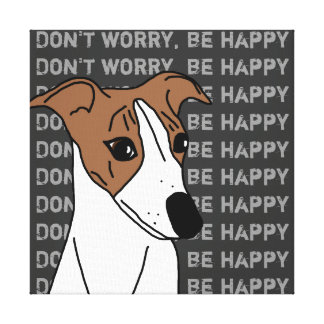 Buddy the Whippet Canvas Print